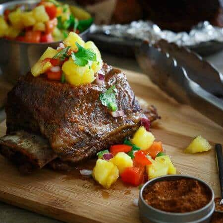 Grilled BBQ Short Ribs