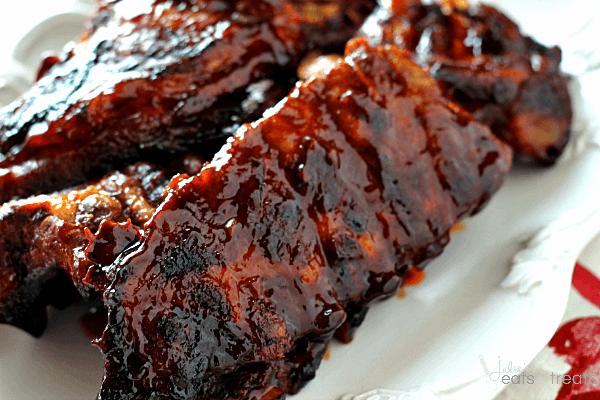 Smokey Barbecue Ribs