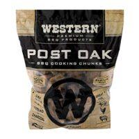 Western Premium BBQ Products Post Oak BBQ Cooking Chunks, 570 cu in