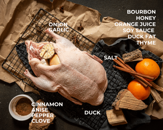 smoked duck ingredients