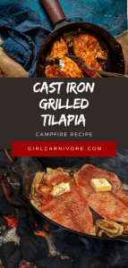 Cast Iron Grilled Tilapia