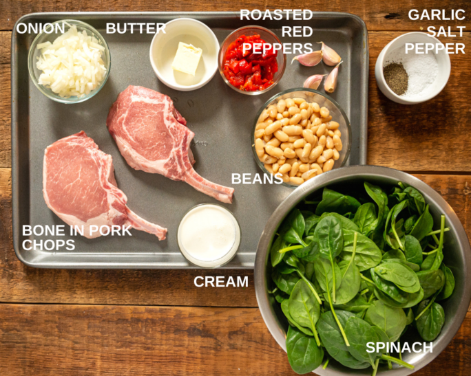 What you need to make tuscan pork chops
