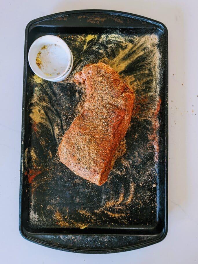 brine curing corned beef and smoking to make the Smoked Pastrami