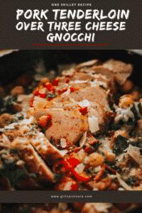 How to make one skillet pork tenderloin and gnocchi