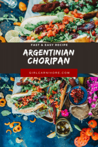 grilled choripan - Argentinian Grilled Sausage Sandwiches
