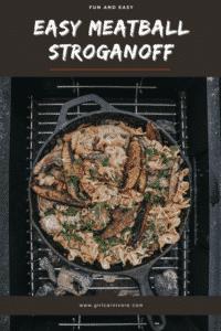 Camping Recipe: Meatball Stroganoff
