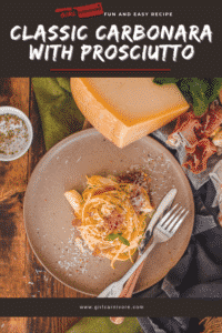 Pin for fun and easy classic carbonara recipe