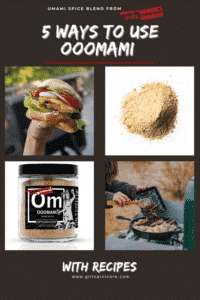 5 ways to use Ooomami, umami spice blend by GirlCarnivore