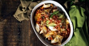 Fast and Easy Weeknight Chicken Enchiladas