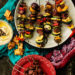 Harissa Marinated Grilled Lamb Kabobs