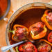 Whole30 Approved Lamb Stuffed Peppers { Turkish Dolma }