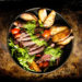 Grilled Chimichurri Steak Potato Power Bowl
